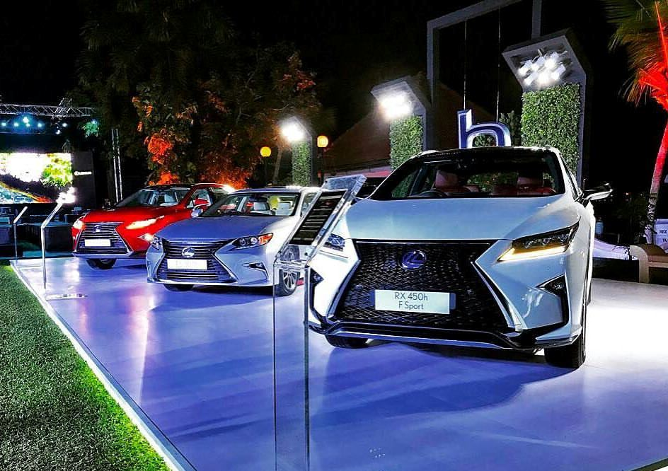 Lexus India previews its line-up of cars at a private event in Kochi ...