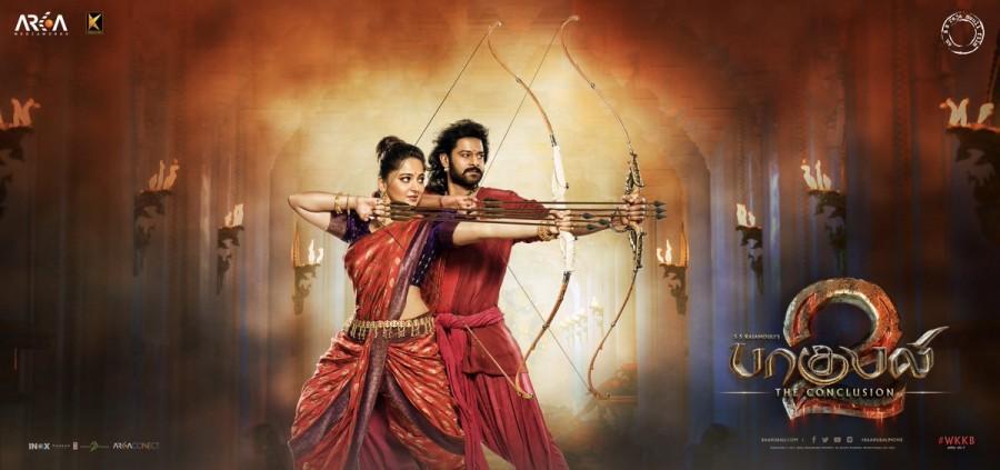 bahubali-2-baahubali-2-baahubali-2-poster-prabhas-anushka-shetty-baahubali-conclusion 'Baahubali 2: The Conclusion' Audio Launch: Will Rajinikanth Be A Part Of The Event? Bollywood