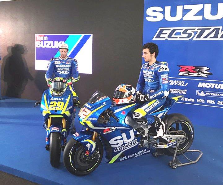 MotoGP 2017: Team Suzuki Ecstar unveils new GSX-RR bike, riders ahead of Sepang test - IBTimes India