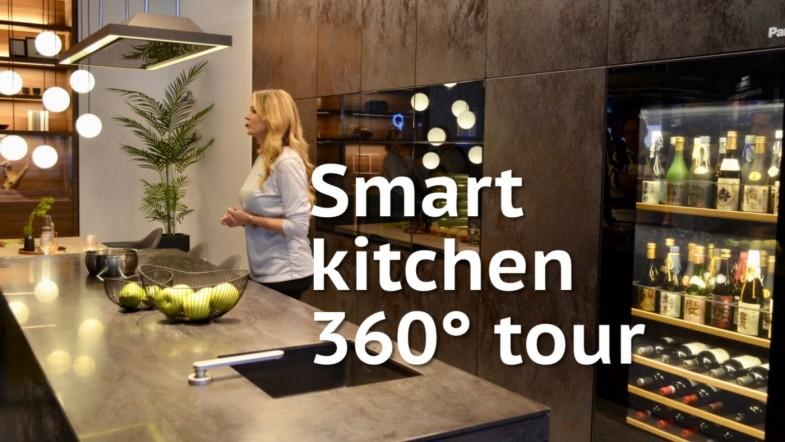 Smart kitchen of the future - 360° tour