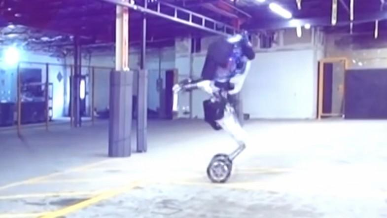 Leaked video shows Boston Dynamics new nightmare inducing wheeled robot