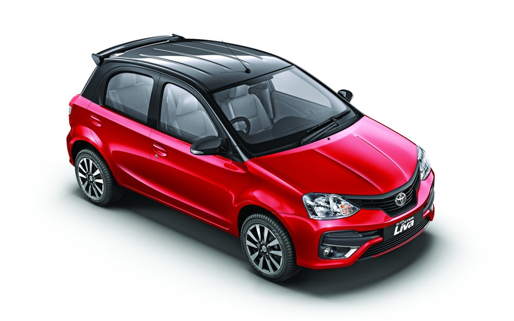 Toyota Etios Liva With Dual Tone Finish Launched At Rs 5
