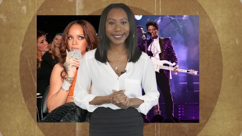 Grammys 2017 highlights: Bruno Mars Prince tribute, Rihannas hip flask and Carpool Karaoke