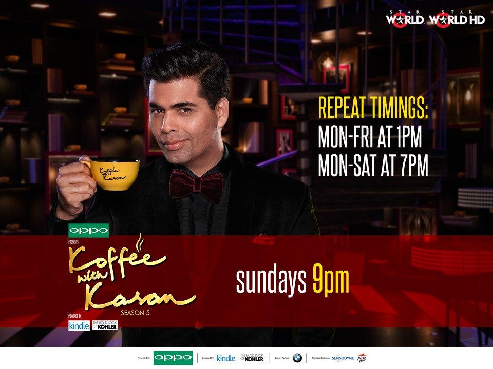 Faaqidaad || Koffee with karan season 5 dailymotion all episodes