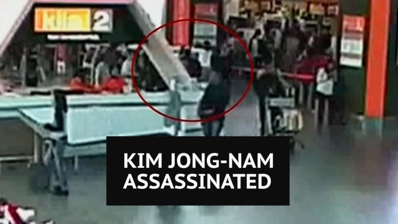 CCTV footage shows Kim Jong-nams assassination at Malaysian airport