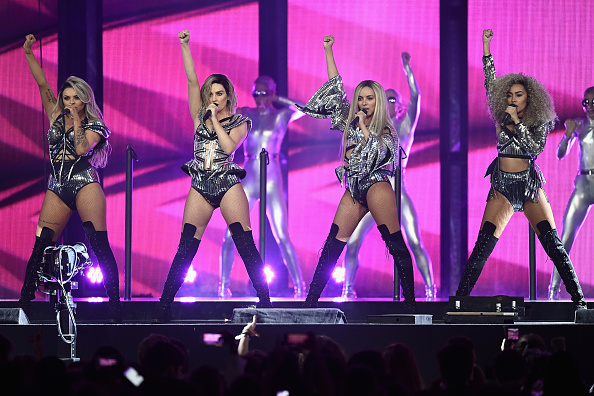 Little Mix thank their exes for Brit Awards success