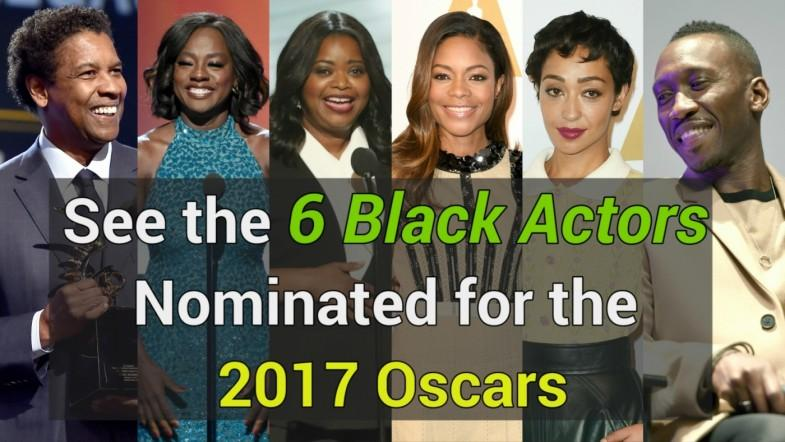 #OscarsSoWhite? Here are the 6 black actors nominated for 2017 Oscars