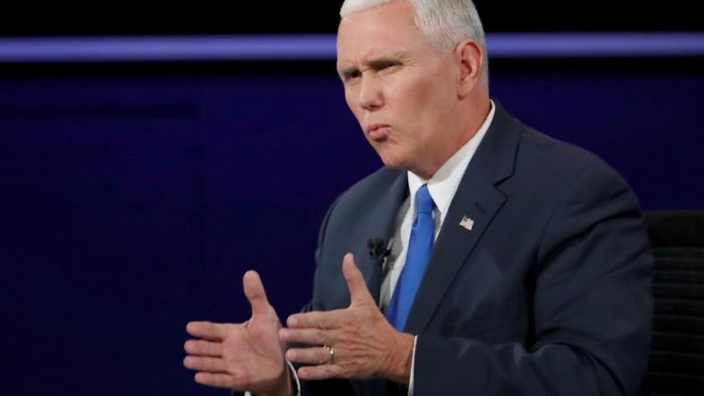 Vice president Mike Pence responds to email misconduct allegations