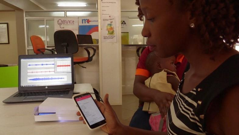 Ugandans invent smart jacket to diagnose pneumonia