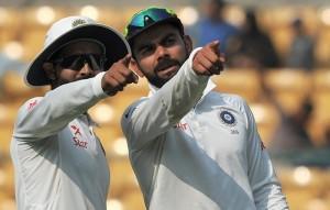 Ravindra Jadeja, Virat Kohli, India, Australia, Test Series 2017