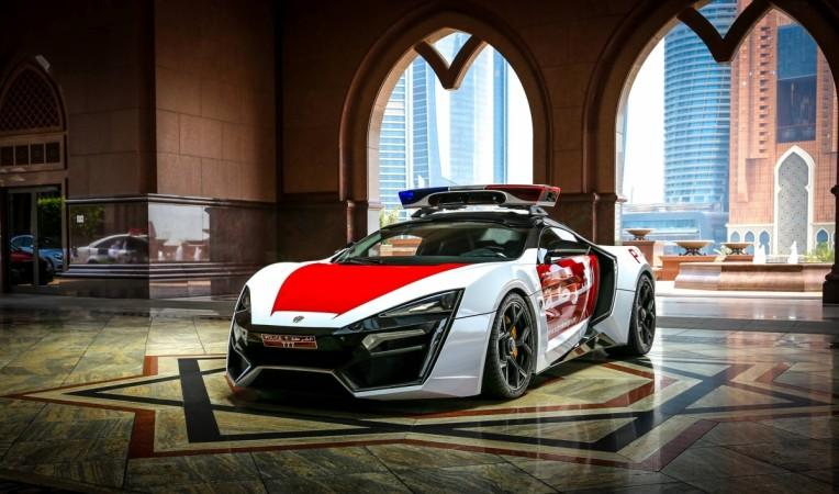 Top 10 Insane Supercars Of Uae Police Including Lykan Hypersport Aston Martin One 77 Ibtimes India