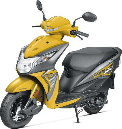 Dio Scooty New Model Colors