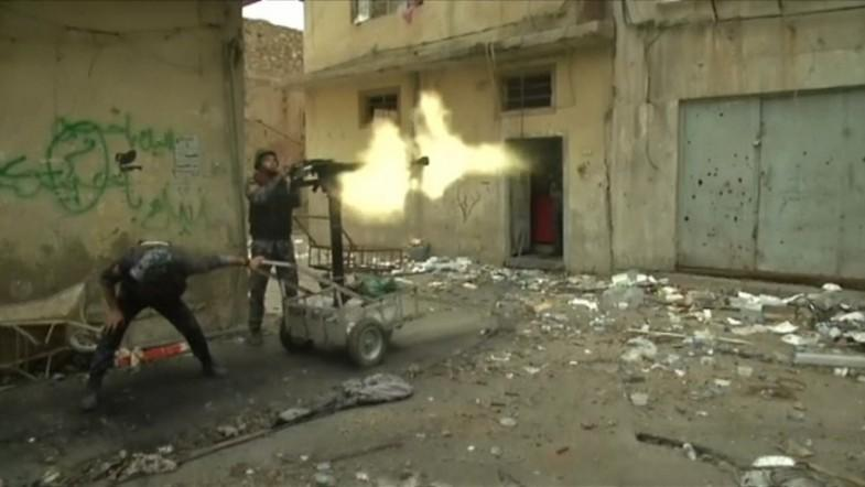 Iraqi army continues battle against Isis, nears Mosuls Old City