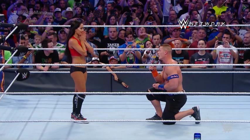 Nip Slips In Wrestling