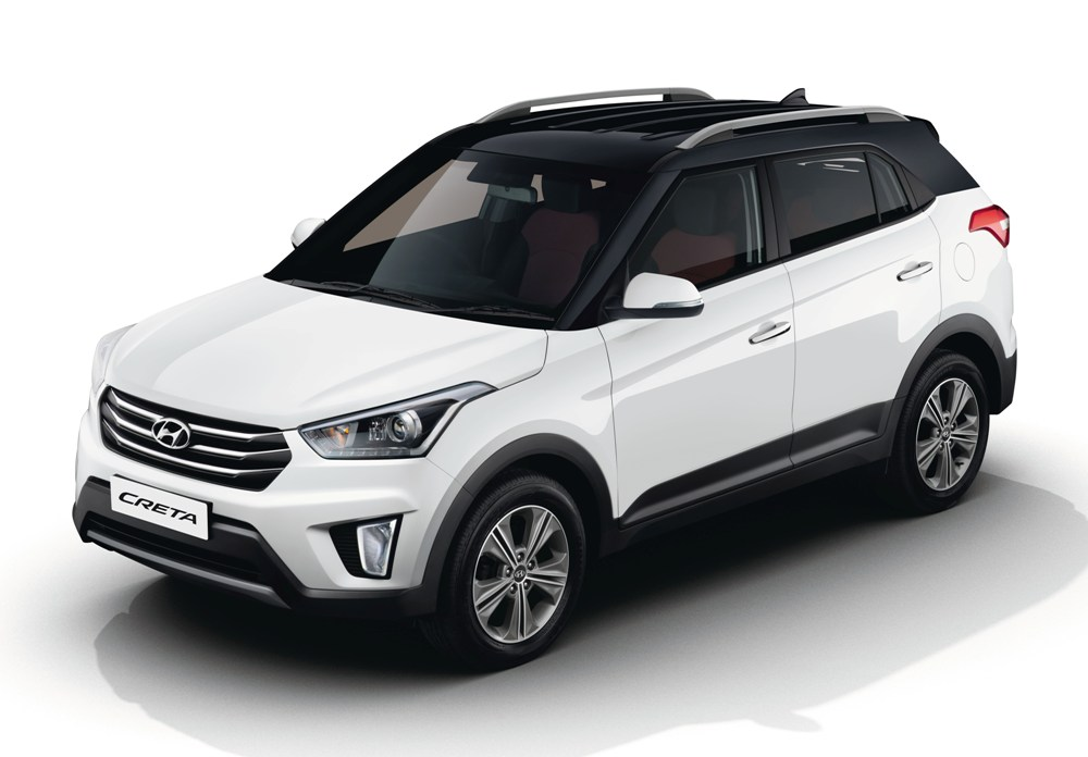 Creta 2017 White >> 2017 Hyundai Creta launched: SUV gets new E+ variant, dual tone shade and more - IBTimes India
