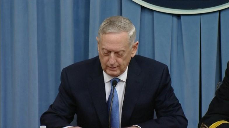 Syria strikes were successful - US Secretary of Defense Mattis