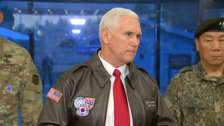 Mike Pence on North Korea: The United States has run out of patience
