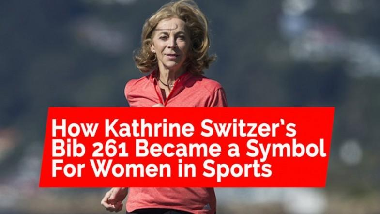 How Kathrine Switzer's bib 261 became a symbol for women in sports