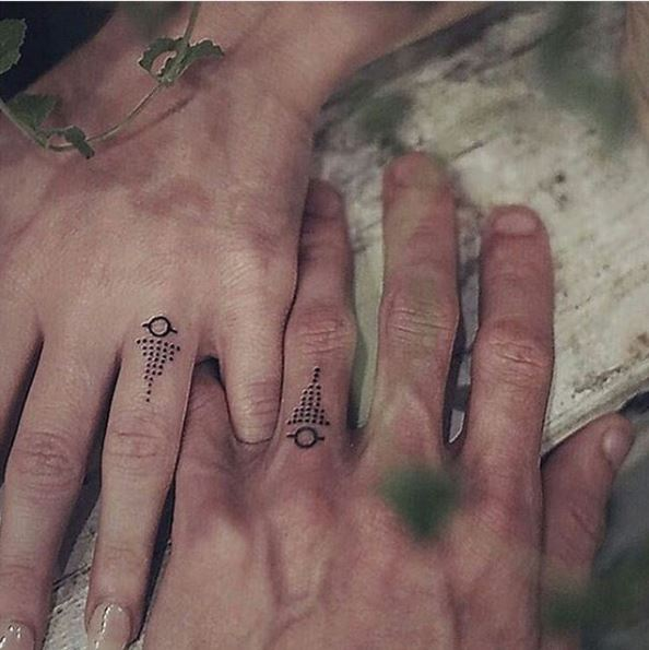 Move Over Diamond Rings Wedding Tattoos Are What You Should