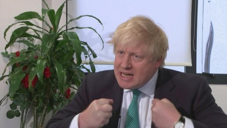 Boris Johnson defends calling Jeremy Corbyn a mugwump