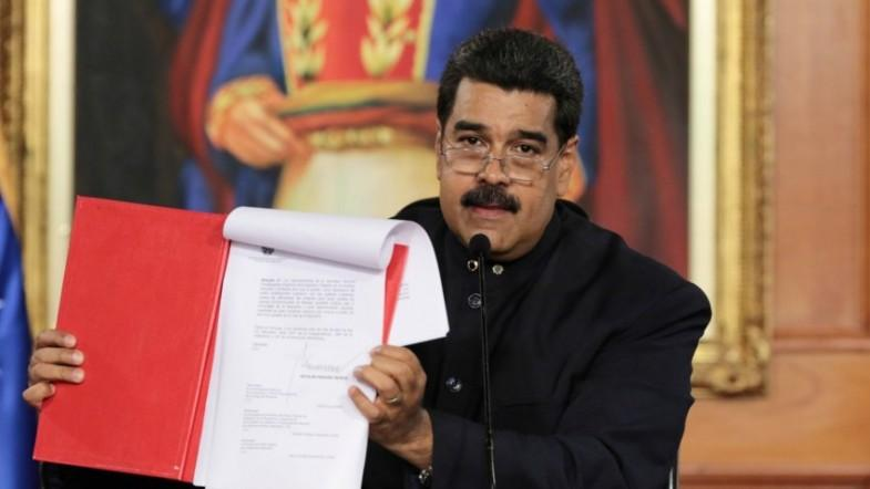 Venezuelan President Maduro creates popular assembly for constitution rewrite amid more anti-government protests