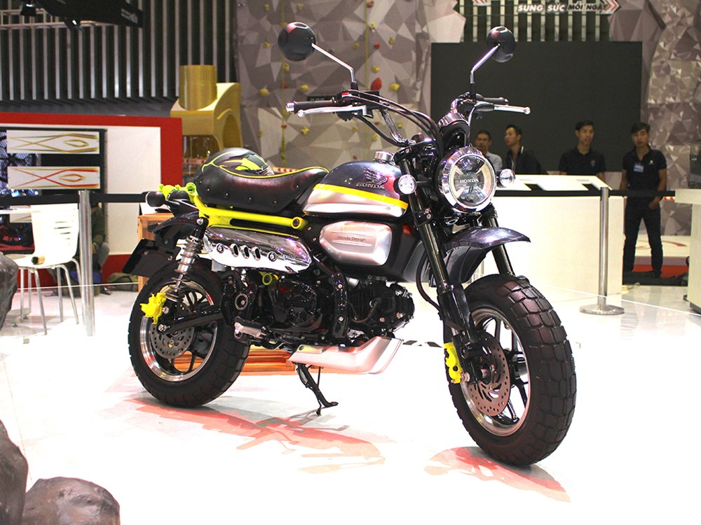 honda monkey 125 concept is as funky as its name ibtimes. Black Bedroom Furniture Sets. Home Design Ideas