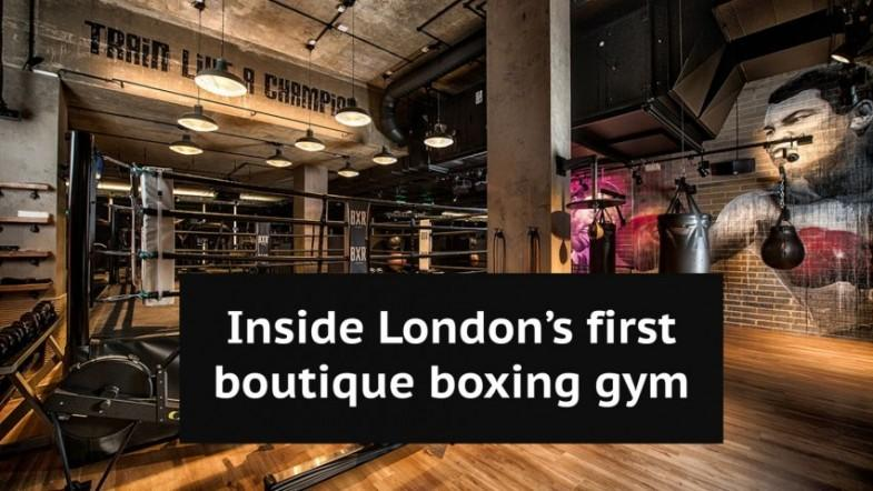 Inside Anthony Joshuas new state-of-the-art boutique boxing gym