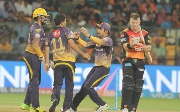 KKR, David Warner, SRH, IPL 2017, playoffs