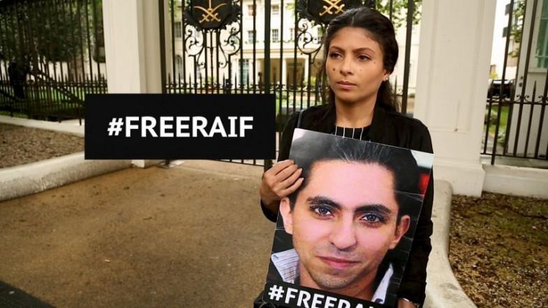 Jailed Saudi blogger Raif Badawis wife: Free my husband