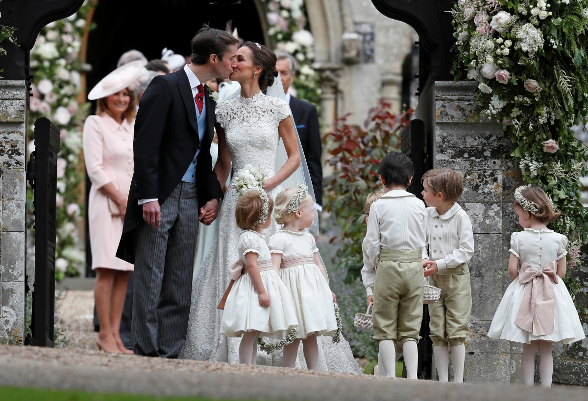 Pippa Middleton wedding: Meghan Markle attends reception ... - photo#9