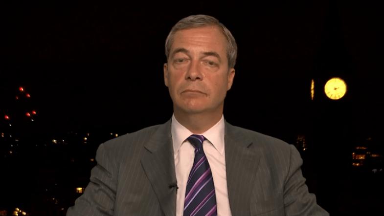 Theresa May is toast - Nigel Farage