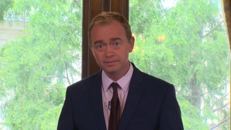 Tim Farron calls on Theresa May to resign if she has an ounce of self respect