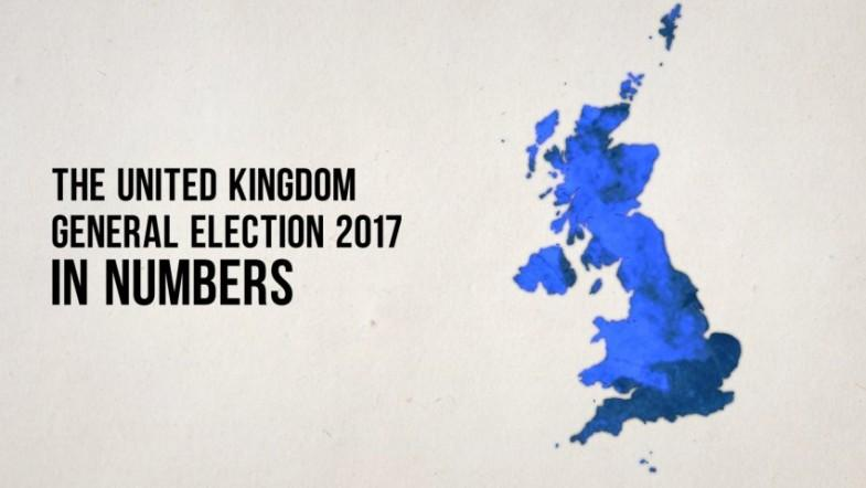 UK general election 2017 in numbers