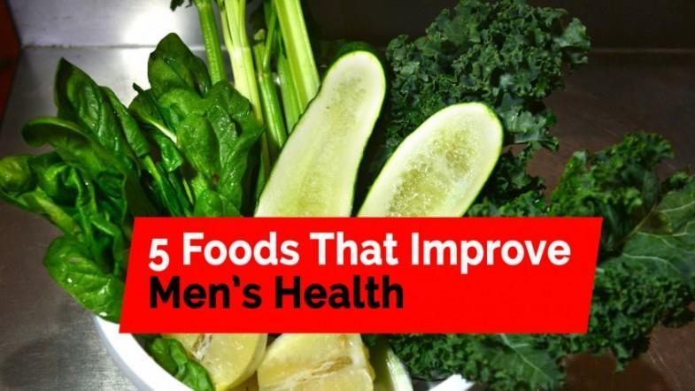 Five foods that improve mens health