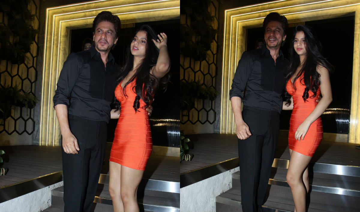 Suhana Khan's recent picture with father Shah Rukh Khan ...