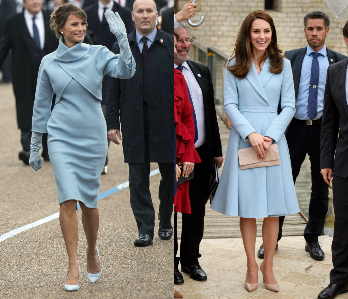 5 Times Melania Trump And Kate Middleton Twinned And Gave -2353