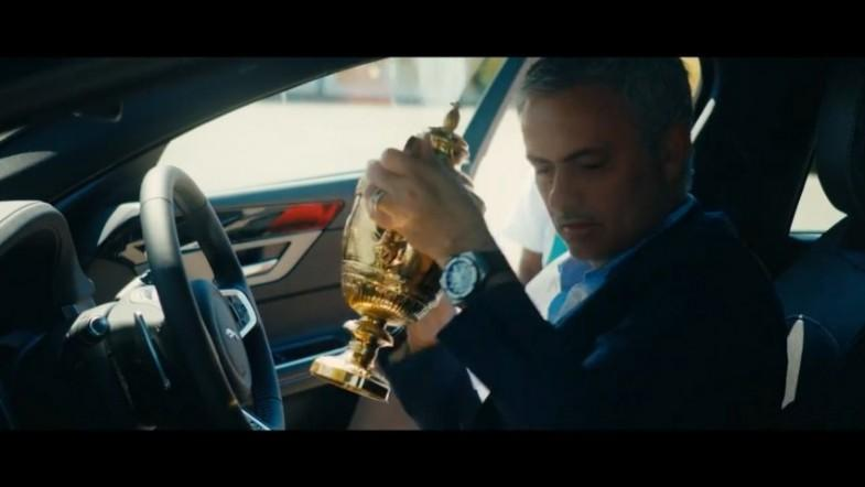 Jose Mourinho steals Andy Murrays Wimbledon trophy in cheeky new advert