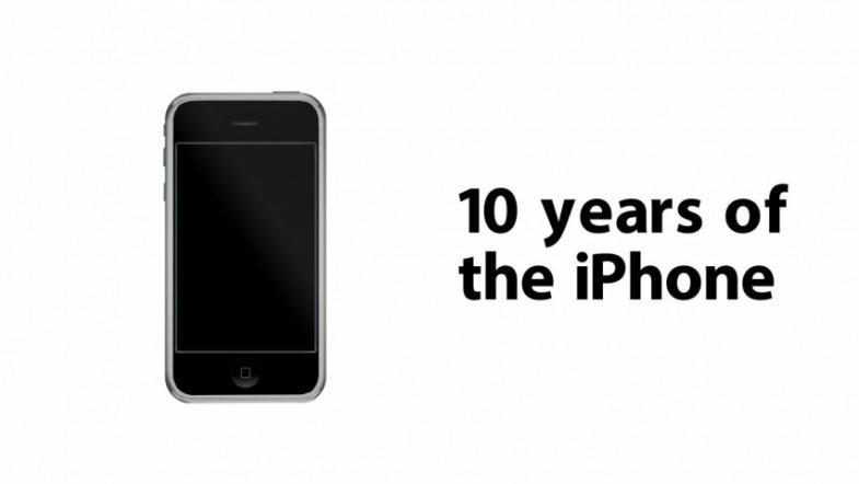 How the iPhone has evolved over the last 10 years