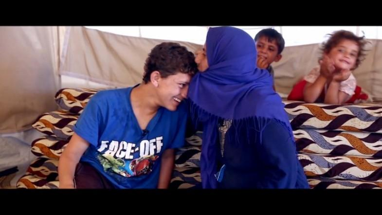 UNICEF reunite separated mother and son after they fled Islamic State