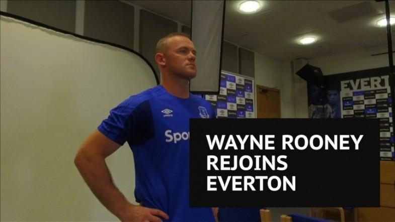 Wayne Rooney calls Everton return a no-brainer after Manchester United exit