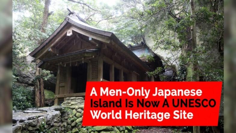 This Japanese island where women are banned is now a World Heritage Site