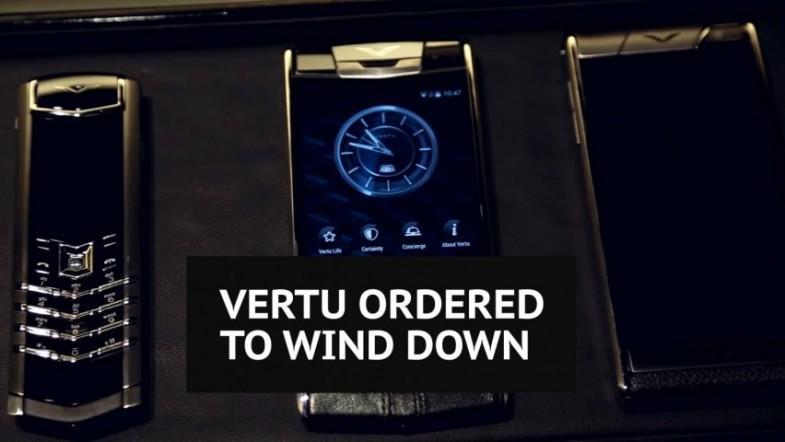 British luxury phone maker Vertu collapses