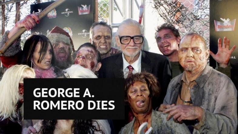Legendary horror director George A. Romero dies