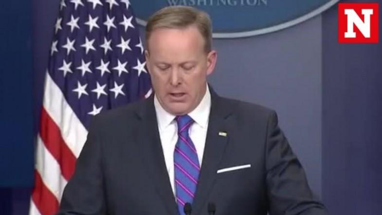 Sean Spicers most memorable awkward moments
