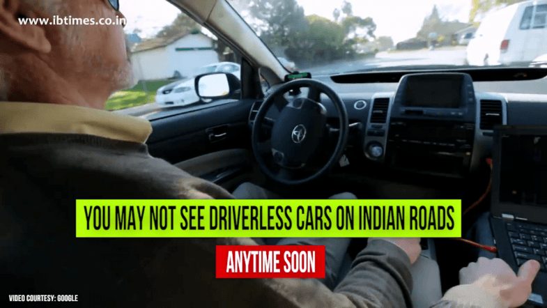 Driverless cars will NOT be allowed in India