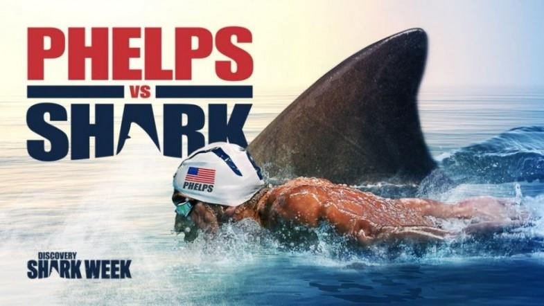 Viewers left disappointed after finding out Michael Phelps Shark Race was CGI