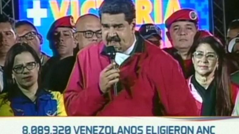 Venezuelan President Nicolas Maduro lambasts Donald Trump, calls for state of emergency