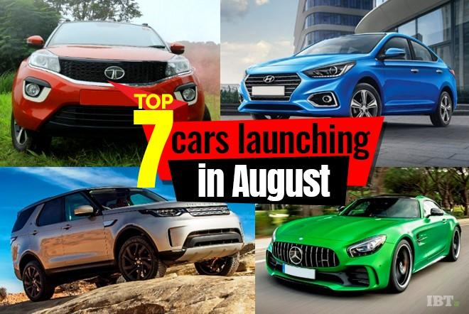 Top 7 cars launching in August in India: From Tata Nexon to Ferrari GTC4Lusso