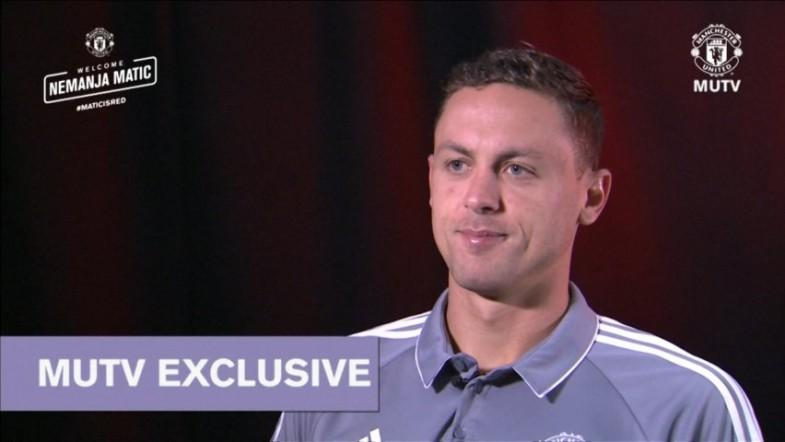 Nemanja Matic feels great about joining Manchester United