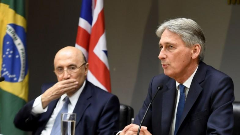 UK chancellor Phillip Hammond pledges to deepen global trade links ahead of Brexit